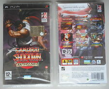 Samurai Showdown  Shodown Anthology psp italiano NEW SEALED NUOVO SIGILLATO