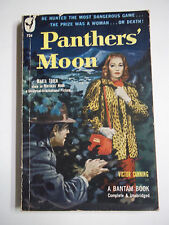Panthers' Moon by Victor Canning Bantam Books #734 1950 Vintage Paperback