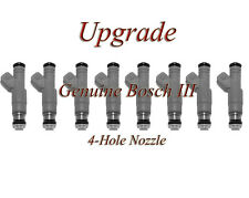 92-94 Dodge 5.2 (8)  BOSCH III UPGRADE FUEL INJECTOR SET 4-HOLE NOZZLE
