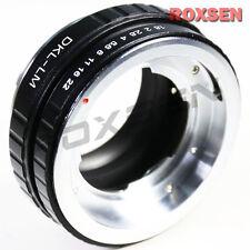 Voigtlander Retina DKL lens to Leica M L/M Mount LM Adapter M7 M8 M9 M9P M-E 240