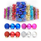 24pcs Fashuion Colourful Balls Baubles for Christmas Tree Xmas Party Decorations