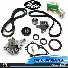 Gates HTD Timing Belt Kit Water Pump V-Belt Tensioner Pulley for Hyundai Accent