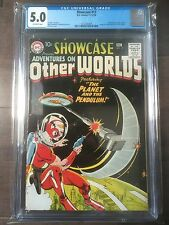 Showcase # 17 CGC 5.0 Origin & 1st app of Adam Strange! HTF in HIGHER GRADE!L@@K