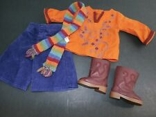 American Girl Doll Julie Casual Dog Walking Outfit Complete Retired Classic