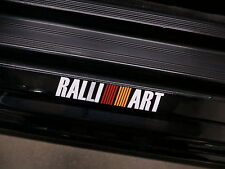(2pcs) RALLIART doorstep badge decal RALLI ART
