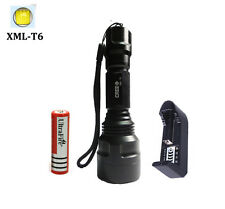 Convoy C8 2500lm xml-T6 flashlight 18650 battery torch linterna led lampe torche