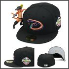 New Era Arizona Diamondbacks Fitted Hat 2001 World Series Side Patch MLB 59fifty