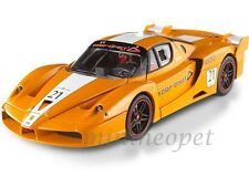 HOT WHEELS ELITE FERRARI FXX ENZO # 21 1/18 ORANGE