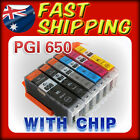 12x Ink Cartriges PGI650 CLI651 With Grey for Canon Pixma MG6360 IP7260 MG7160