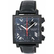 LOUIS ERARD MEN'S CARREE 39MM LEATHER BAND AUTOMATIC WATCH 77504AN02.BDC34