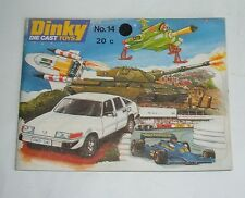 Dinky Toys Catalogue No. 14, Price 20c, Dated May 1978, - Superb.
