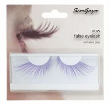 Stargazer falsas Feather Pestañas # 56 Extra Largo Morado