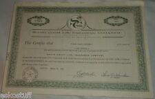 South Coast Life Insurance Company March 10, 1967 Common  Stock Certificate See!