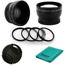 52mm Professional Accessory Kit for Nikon D40 D60 D90 D700 18-55mm lens