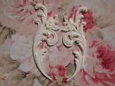 FLEXIBLE Acanthus Leaf Scroll Floral Sides Furniture Applique Architectural