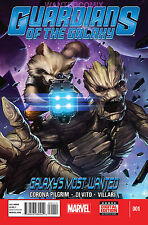 GUARDIANS OF THE GALAXY GALAXY'S MOST WANTED 1 ROCKET RACCOON GROOT MARVEL COMIC
