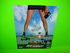 Tsunami RE VOLT 2004 Original NOS Sitdown Video Arcade Game Promo Sales Flyer
