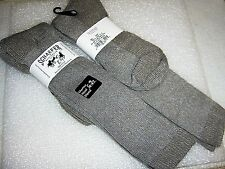 Men's Merino Wool Boot Sock, 2 Pair, size 13-16 Made in USA Big Men SOFT COMFY