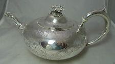 Victorian Silver Teapot Daniel & Charles Houle London 1855 653g