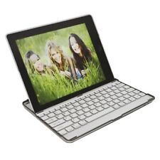 Wireless Bluetooth Keyboard Case for Apple For iPad 2 3 4 Aluminum Silver