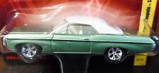 JOHNNY LIGHTNING 69 1969 CHEVY CHEVROLET IMPALA SS GRN CONVERTIBLE TOP UP CAR