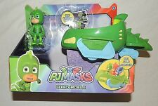 New PJ Masks Gekko Mobile Green Car Gecko Disney Junior Super Hero