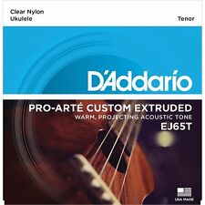 D'Addario EJ65T Pro-Arte Custom Extruded Tenor Nylon Acoustic Ukulele Strings