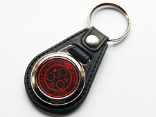 SILENT HILL HALO OF THE SUN Horror Video Game Premium Leather & Chrome Keyring