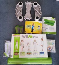 Wii Fit Plus board bundle with games and extras