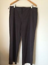 Principles Size 16 Brown Polyester/lycell  Trousers  T3384