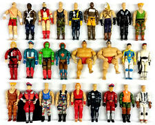 HUGE LOT OF 26 VINTAGE GI JOE STREET FIGHTER SERIES 1 & II MOVIE EDITION FIGURES