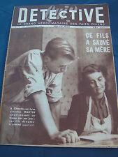 Détective 1947 75 CHAZELLES SUR LYON BURLIONCOURT GRéMONVILLE ANGERS WATTRELOS