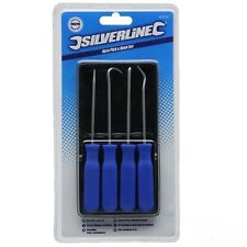 Silverline Pick & Hook Set 4pce Hand Tools Car Van Garage Mechanic Engineers