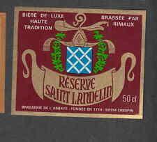 Ancienne étiquette Bière Alcool France  VV16 Brassée de Rimaux