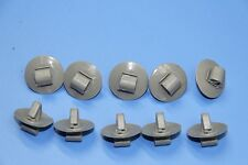 JAGUAR S-TYPE GREY PLASTIC FASTENERS DOOR SIDE MOULDING LOWER TRIM CLIPS