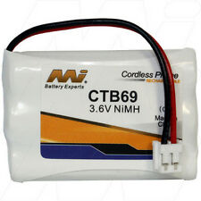 3.6V Replacement Battery Compatible with Vtech 27910