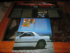 Nissan Mid4 and Mazda RX7 articles