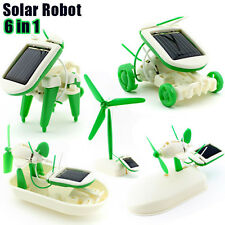 New Educational Solar Power Learning Kids Toys Science Building Kit Robot DIY