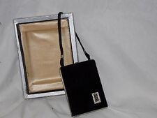 RARE! UNUSED 1920s Mondaine Demi Purse Carryall Vanity Book Dual COMPACT