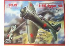 ICM 72072 1/72 Polikarpov I-16 Type 18 WWII Soviet Fighter