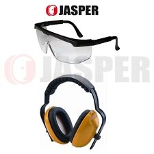 Jasper ANSI CE Ear Muff & Eye Protection, Hearing Protector Shooting Range