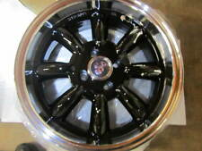 FIAT 500, ABARTH, MONZA WHEELS, GLOSS BLACK, SET OF 4,  15X6.5