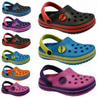 BOYS GIRLS KIDS UNISEX CLOGS MULES BEACH SANDALS FLIP FLAP SUMMER SHOES