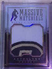 2015-16 Panini Anthology Massive Materials Prime #39 Sidney Crosby /10