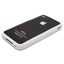 Nuevo Blanco Elegante parachoques Series Funda Para Apple Iphone 4 4s-En Stock-Reino Unido