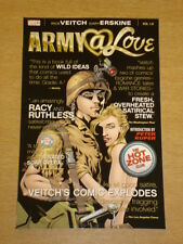 ARMY @ LOVE VOL 1 HOT ZONE CLUB DC VERTIGO COMICS RICK VEITCH 9781845766740