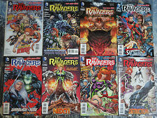 The Ravagers (New 52) #1-12 Lot of 8Diff Gen13 Fairchild Terra Rose Wilson BB ++
