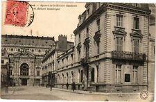 CPA  Tours  - Agence de la Société Générale et théátre municipal   (227456)