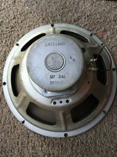 "12"" inch vintage Magnavox Alnico speaker original cone for Fender amp?"