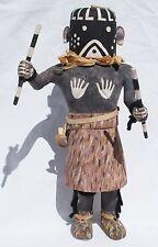 """Oswald """"White Bear"""" Fredericks Signed Hopi Mastop 12"""" Katsina Kachina Doll 1972"""